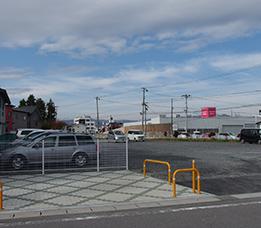保護者送迎用駐車場