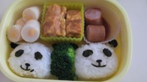 みんなかわいくて おいしいお弁当だったね(^^)