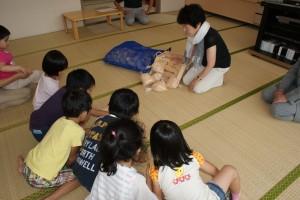 協会長の長澤様の、お子さん達にへのお話から始まりました