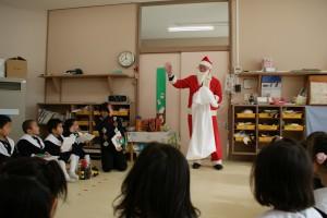 わ~っ!サンタさんだ!!゚( *≧∇)ノノノ*.☆゚・:*☆
