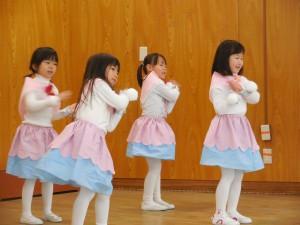 ちょっぴり恥ずかしかったけど、元気にダンスもできました(^o^)