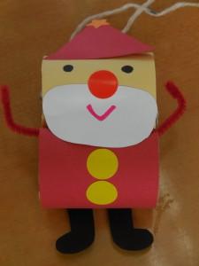 この人形を一緒に作りました