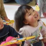 初めての幼稚園、初めてのお友だち(^^)