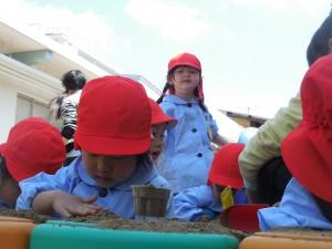 """""""砂""""と言う存在は触れる事で安らぎ、そして多くの学びの場を作ってくれますね"""