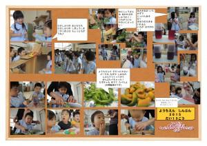 ようちえん新聞2015-No.13