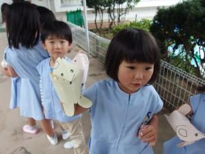 みんな作った封筒人形。可愛いでしょ?(*^^*)
