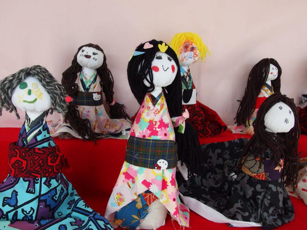 お人形も嬉しそう(^o^)♪