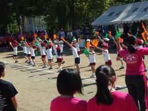 運動会のダンス、自信を持って踊れました(^^)