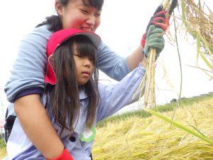"""「できた~!」初めての""""収穫""""だね(^^)"""