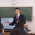 本学幼児教育学科の折笠国康先生のご講義でした