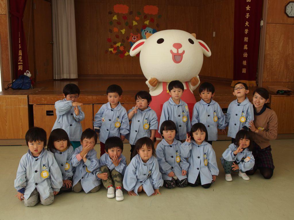 クラス毎に記念写真♪また来年も来てくれるとイイね(^o^)